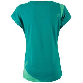 La Sportiva W's Chimney T-Shirt Emerald/Mint